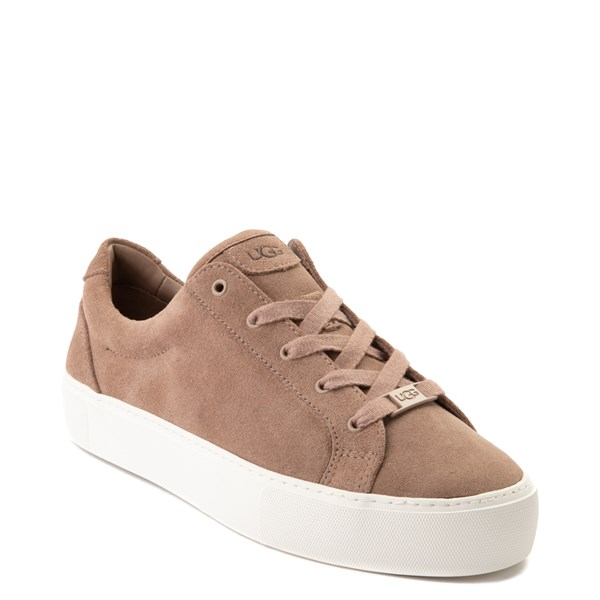alternate view Womens UGG® Zilo Casual Platform Shoe - BeigeALT1