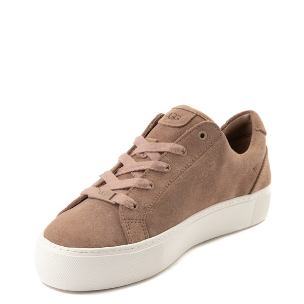 alternate view Womens UGG® Zilo Casual Platform Shoe - BeigeALT3
