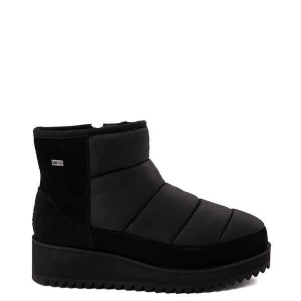 Womens UGG® Ridge Mini Platform Boot - Black