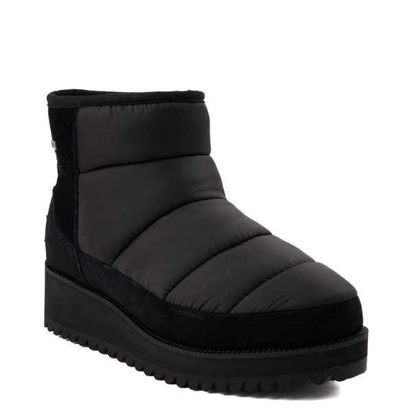Alternate view of Womens UGG® Ridge Mini Boot - Black