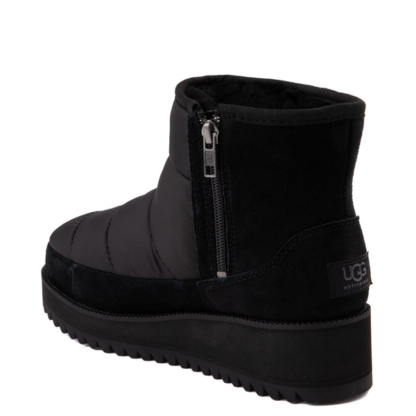 alternate view Womens UGG® Ridge Mini Boot - BlackALT2
