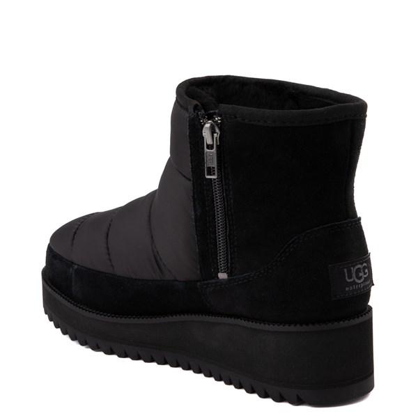 alternate view Womens UGG® Ridge Mini Platform Boot - BlackALT2
