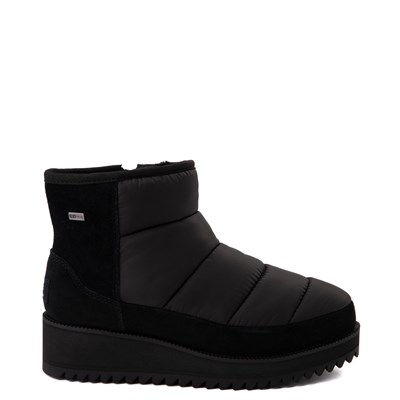 Main view of Womens UGG® Ridge Mini Platform Boot - Black