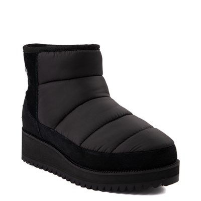 Alternate view of Womens UGG® Ridge Mini Platform Boot - Black