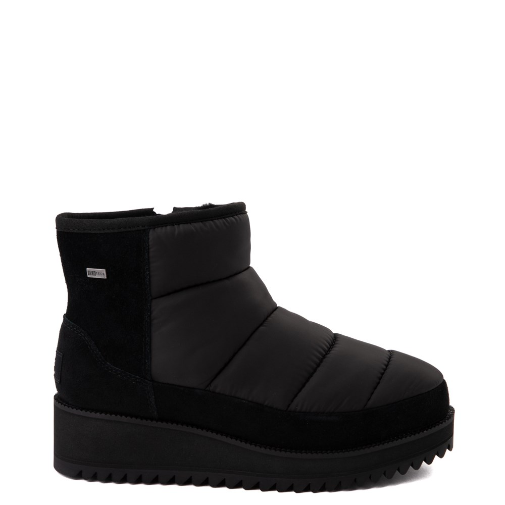 Womens UGG® Ridge Mini Platform Boot - Black
