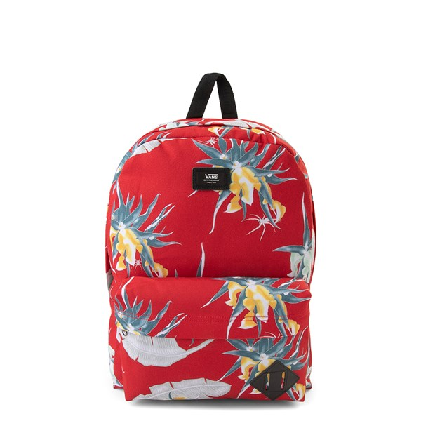 Vans Old Skool Arachnofloria Backpack - Racing Red