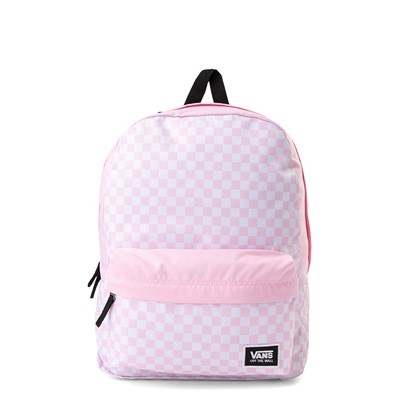 Main view of Vans Realm Classic Checkered Backpack