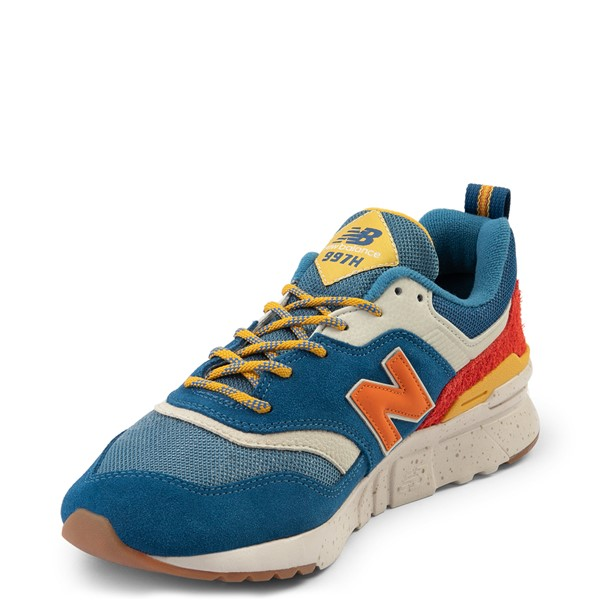 alternate view Mens New Balance 997H Athletic Shoe - Blue / OrangeALT2