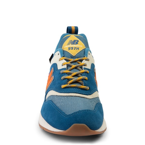 alternate view Mens New Balance 997H Athletic Shoe - Blue / OrangeALT4