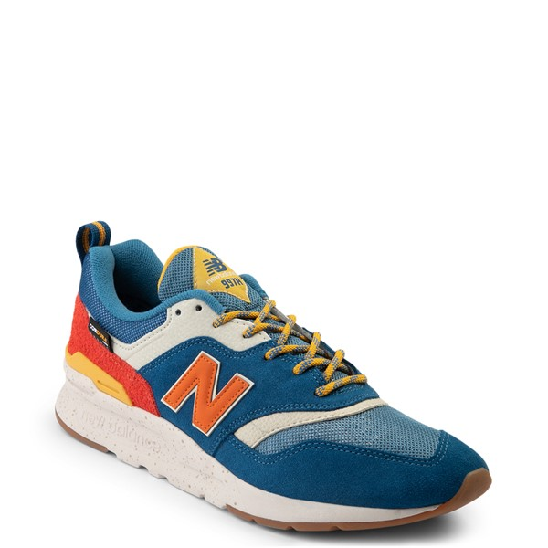 alternate view Mens New Balance 997H Athletic Shoe - Blue / OrangeALT5