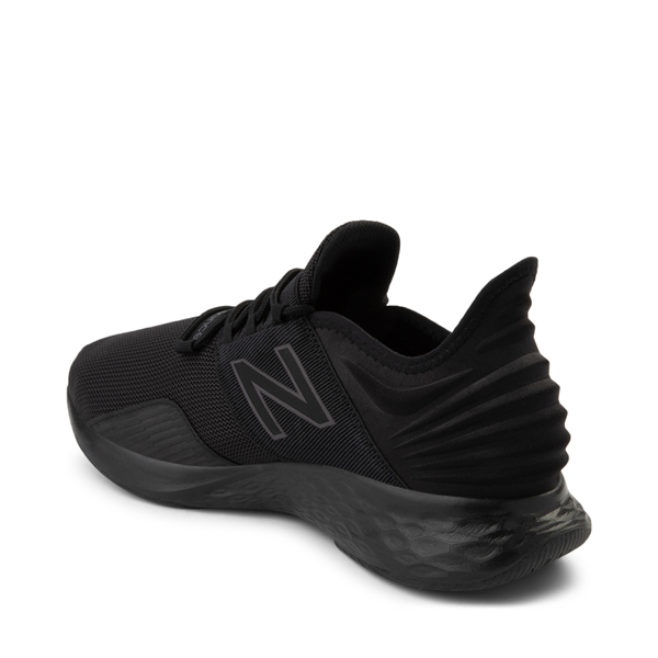 alternate view Mens New Balance Fresh Foam Roav Athletic Shoe - Magnet BlackALT1