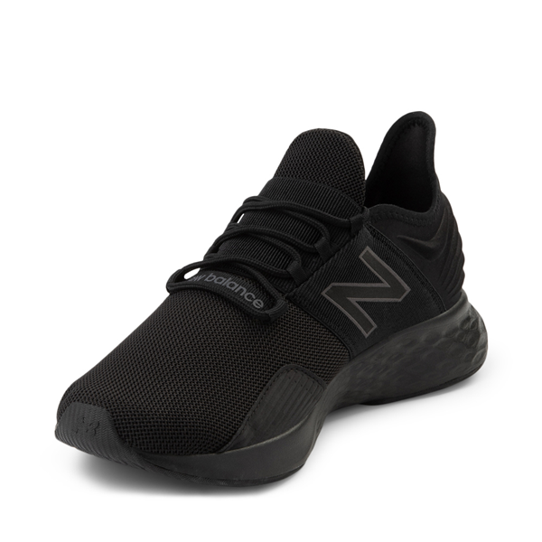 alternate view Mens New Balance Fresh Foam Roav Athletic Shoe - Magnet BlackALT2
