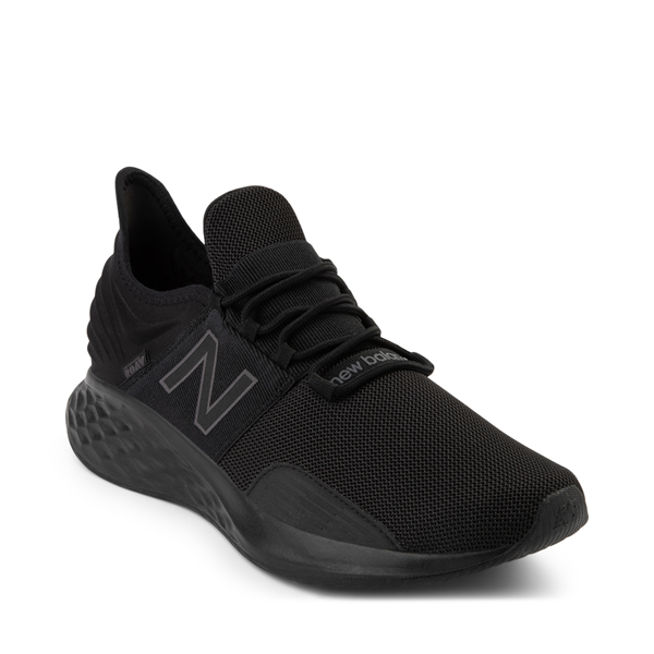 alternate view Mens New Balance Fresh Foam Roav Athletic Shoe - Magnet BlackALT5