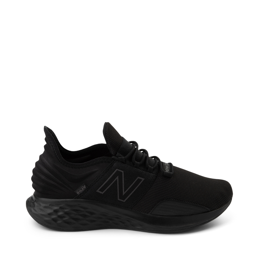 Mens New Balance Fresh Foam Roav Athletic Shoe - Magnet Black