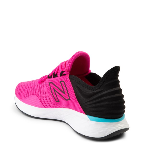 alternate view Womens New Balance Fresh Foam Roav Athletic Shoe - Pink / BlackALT2