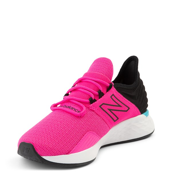 alternate view Womens New Balance Fresh Foam Roav Athletic Shoe - Pink / BlackALT3