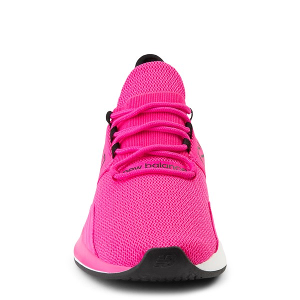 alternate view Womens New Balance Fresh Foam Roav Athletic Shoe - Pink / BlackALT4