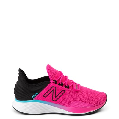 Main view of Womens New Balance Fresh Foam Roav Athletic Shoe - Pink / Black