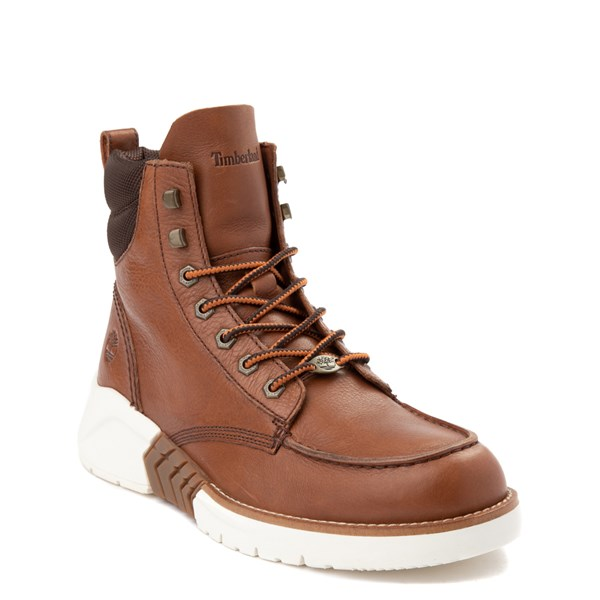 alternate view Mens Timberland M.T.C.R. Moc-Toe Sneaker Boot - BrownALT1