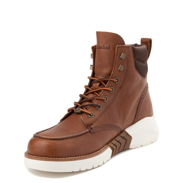 alternate view Mens Timberland M.T.C.R. Moc-Toe Sneaker Boot - BrownALT3