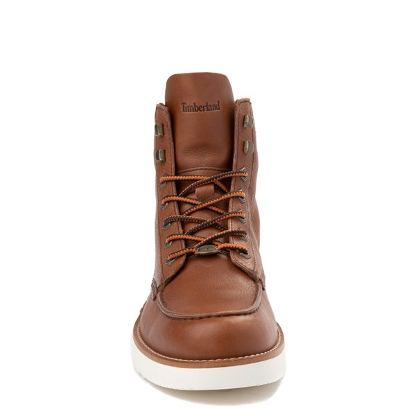 alternate view Mens Timberland M.T.C.R. Moc-Toe Sneaker Boot - BrownALT4