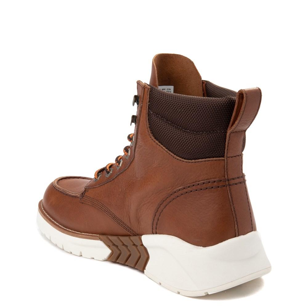 Mens Timberland M.T.C.R. Moc Toe Sneaker Boot Brown