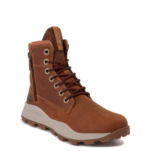 Alternate view of Mens Timberland Brooklyn Zip Boot - Tan