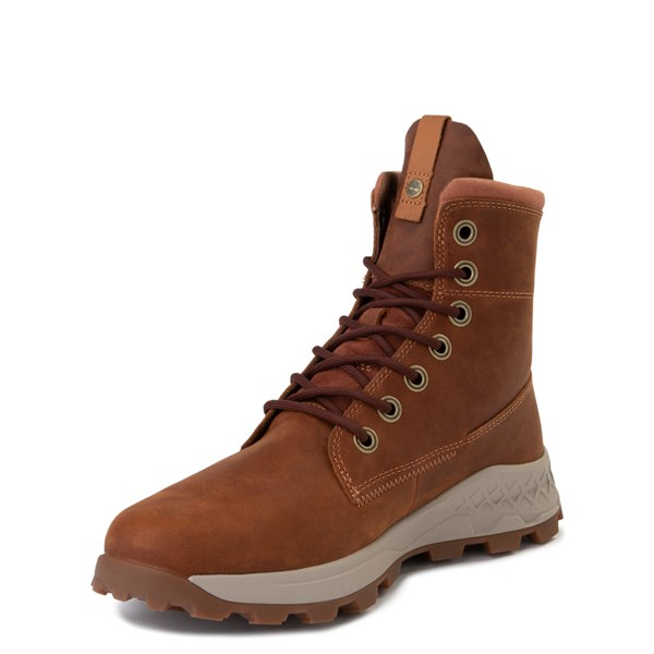alternate view Mens Timberland Brooklyn Zip Boot - TanALT3