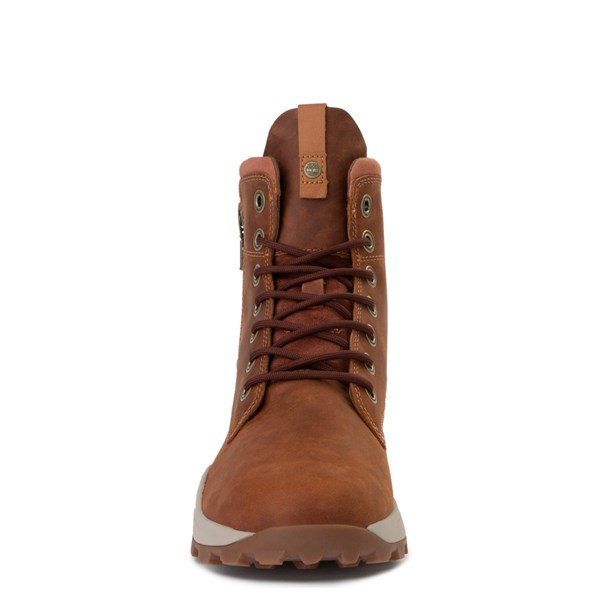alternate view Mens Timberland Brooklyn Zip Boot - TanALT4