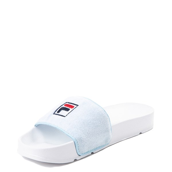 alternate view Womens Fila Terry Slide SandalALT3