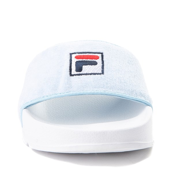 alternate view Womens Fila Terry Slide SandalALT4