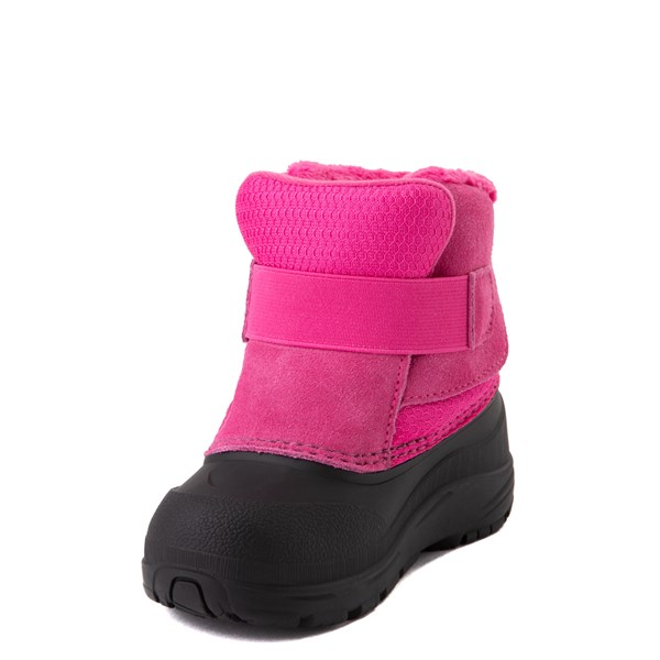 alternate view The North Face Alpenglow II Boot - Toddler - Mr. Pink / BlackALT3