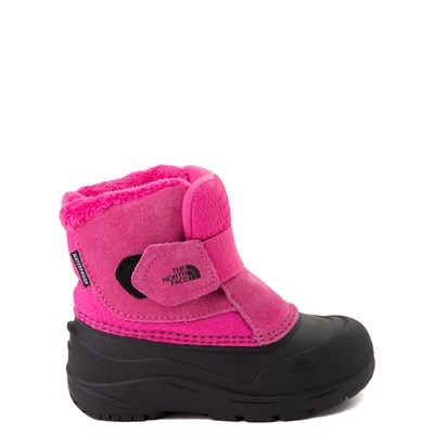 Main view of The North Face Alpenglow II Boot - Toddler - Mr. Pink / Black