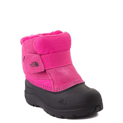Alternate view of The North Face Alpenglow II Boot - Toddler - Mr. Pink / Black