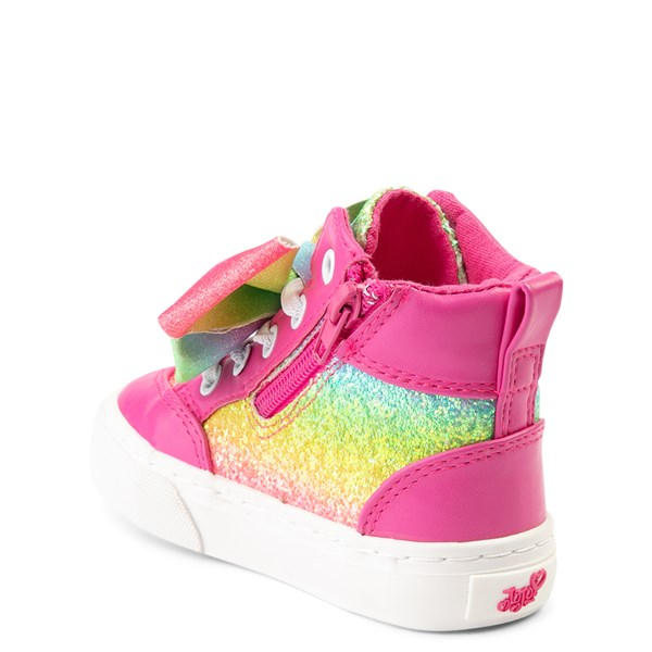 alternate view JoJo Siwa™ Glitter Bow Hi Sneaker - ToddlerALT2