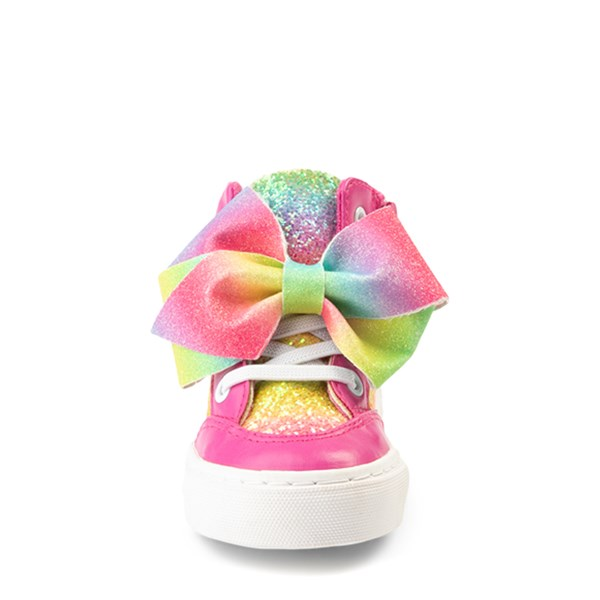 alternate view JoJo Siwa™ Glitter Bow Hi Sneaker - ToddlerALT4