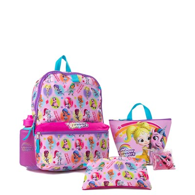Main view of Rainbow Rangers 5-Piece Backpack Set