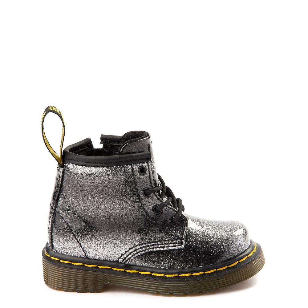 Girls Toddler Dr. Martens 1460 4-Eye Glitter Boot