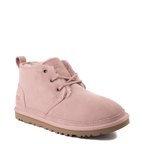 alternate view Womens UGG® Neumel Short Boot - Pink CrystalALT1