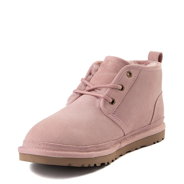 alternate view Womens UGG® Neumel Short Boot - Pink CrystalALT3