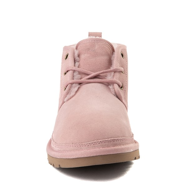 alternate view Womens UGG® Neumel Short Boot - Pink CrystalALT4