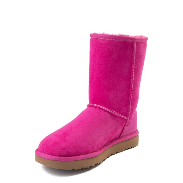 alternate view Womens UGG® Classic Short II Boot - FuchsiaALT3