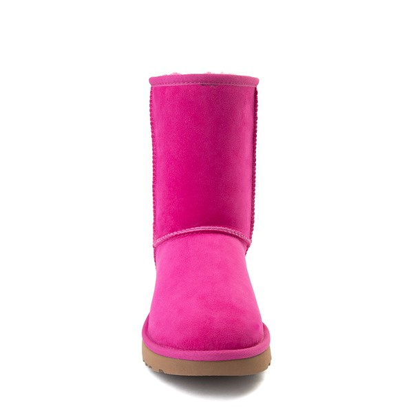 alternate view Womens UGG® Classic Short II Boot - FuchsiaALT4
