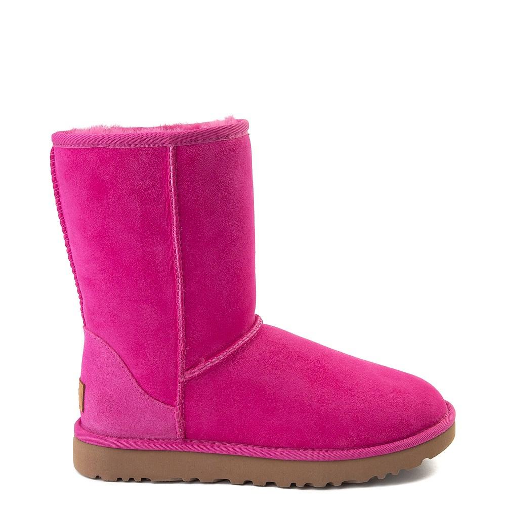 Womens UGG® Classic Short II Boot - Fuchsia