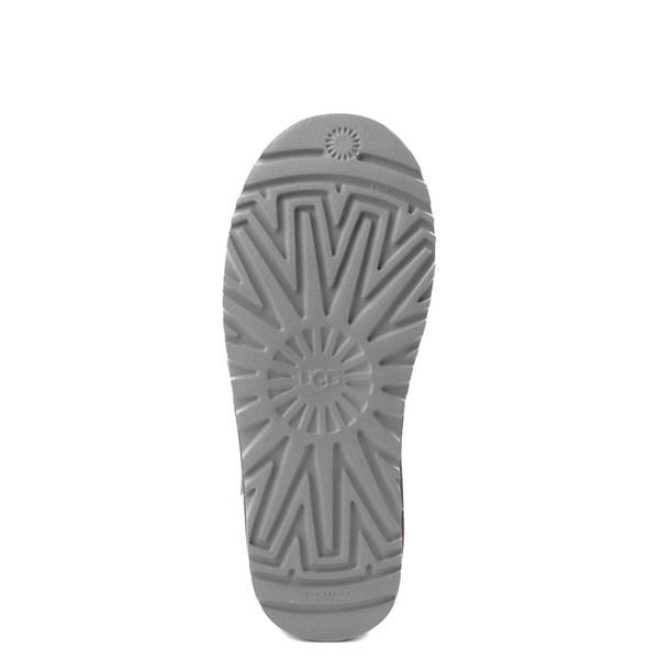 alternate view Womens UGG® Classic Knit Boot - CharcoalALT5