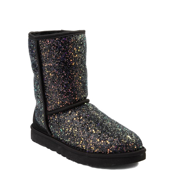 Alternate view of Womens UGG® Classic Short II Cosmos Boot - Black