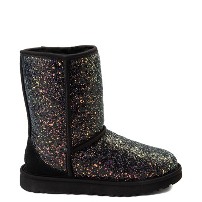 Main view of Womens UGG® Classic Short II Cosmos Boot - Black