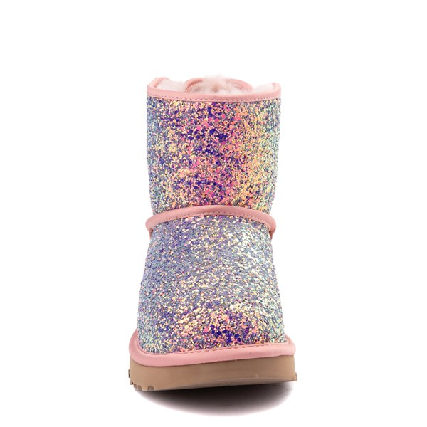 alternate view Womens UGG® Mini Bailey Bow II Cosmos Boot - Quartz PinkALT4