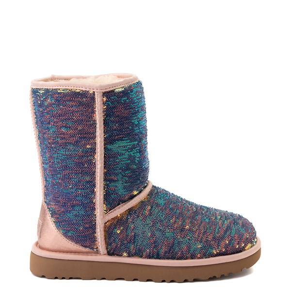 alternate view Womens UGG® Classic Short II Cosmos Boot - QuartzALT1