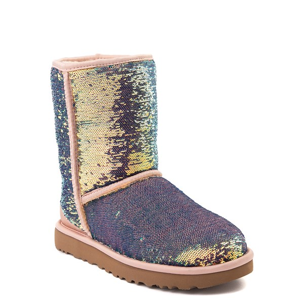 alternate view Womens UGG® Classic Short II Cosmos Boot - QuartzALT1B